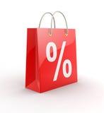 Shopping bag discount Stock Photo