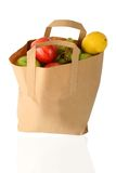 Shopping bag - fruits Royalty Free Stock Images
