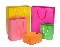 Shopping Bag gift bag Stock Photography