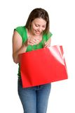 Shopping Bag Girl Royalty Free Stock Photo
