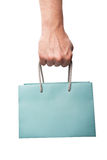 Shopping bag in hand Royalty Free Stock Photography