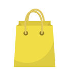 Shopping bag icon flat style. Paper bags on a white background. Gift package. Vector Illustration. Shopping bag icon flat style. Colorful shopping bag sign stock illustration