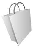 Shopping bag icon illustration Stock Images