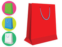 Shopping Bag Icons Stock Images