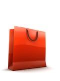 Shopping bag illustration Stock Images