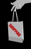 Shopping bag illustration Royalty Free Stock Photo