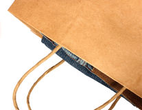Shopping bag isolated Stock Images