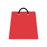 Shopping bag isolated icon Stock Image