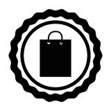 Shopping bag isolated icon Stock Photos