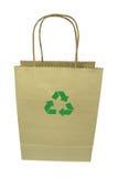 Shopping bag isolated on white background Stock Images