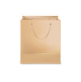Shopping bag isolated on white Stock Photography