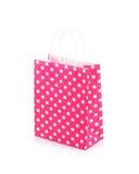 Shopping bag isolated on white background Royalty Free Stock Images