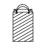 Shopping bag isometric icon Royalty Free Stock Photos