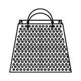 Shopping bag isometric icon Stock Photos