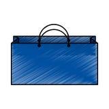 Shopping bag isometric icon Royalty Free Stock Photo