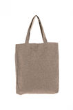 Shopping bag made with woven fabric Stock Images