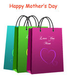shopping bag - Mother's Day Royalty Free Stock Image