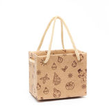 Shopping Bag of presents. On white background Stock Photos