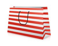 Shopping bag, realistic vector illustration Stock Photos