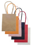 Shopping Bag Sack Set Royalty Free Stock Photography