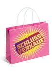 Shopping bag sale 2 Stock Image