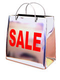 Shopping bag. Sale Royalty Free Stock Images