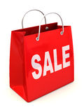 Shopping bag. Sale Stock Photos