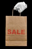 Shopping bag Sale Royalty Free Stock Photos