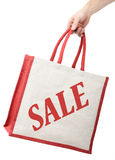Shopping bag sales Stock Image