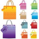 Shopping Bag set. Stock Photography
