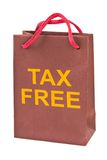 Shopping bag Tax Free Stock Photo