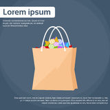 Shopping Bag WIth Treat or Trick Vector Stock Photography