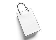 Shopping bag on white background Stock Photo