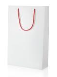 Shopping bag on white Royalty Free Stock Image