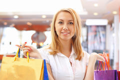 shopping bags. Royalty Free Stock Photos