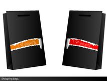 Shopping bags. Royalty Free Stock Photography
