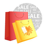 Shopping bags 2 Stock Image