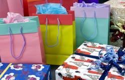 Shopping bags 2 Stock Photo