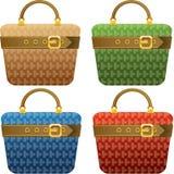 Shopping bags. Illustration of shopping bags. Fashion theme stock illustration