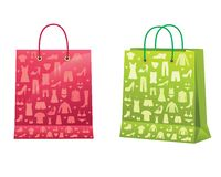 Shopping bags. Stock Photos