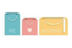 Free Shopping Bags Royalty Free Stock Image - 30086296