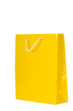 Shopping Bags. Bright colored shopping bags on white background stock images