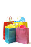 Shopping bags. A shot of a bunch of colorful shopping bags royalty free stock photography