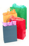 Shopping Bags. Isolated stock photography