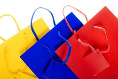 Shopping bags Royalty Free Stock Photos