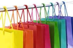 Shopping bags Stock Image