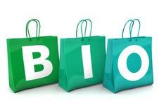Shopping Bags BIO Royalty Free Stock Photos