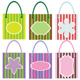 Shopping Bags Colorful Stock Image