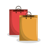 Shopping bags design Royalty Free Stock Photography