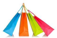 Shopping bags Royalty Free Stock Images